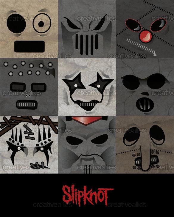 Slipknot_poster-sebastian_lohmaier