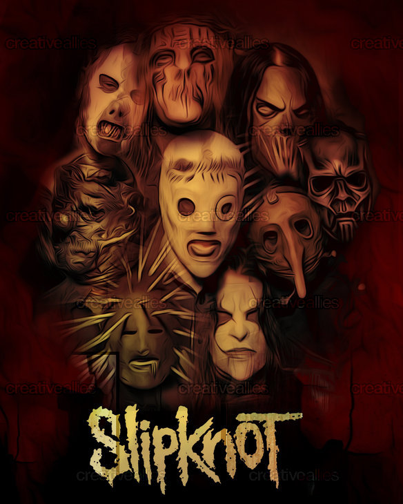 Slipknot-press_by_sabercore23