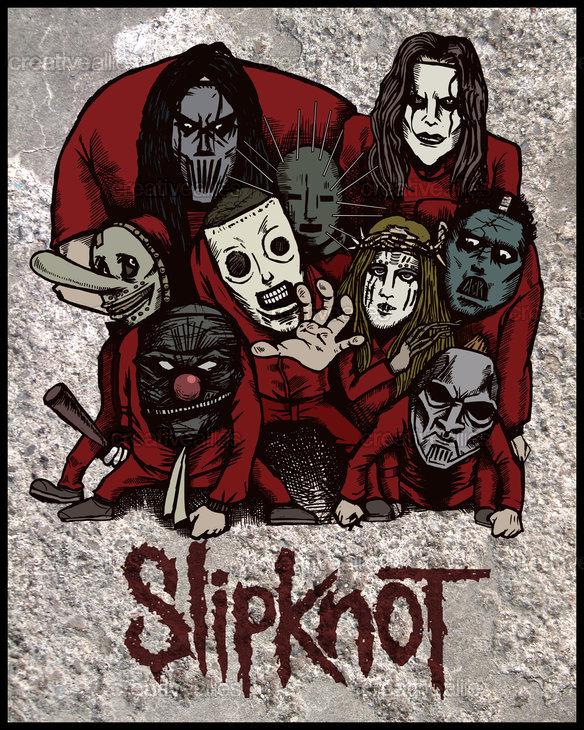 Slipknot-n