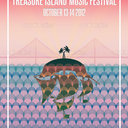 Treasure Island Music Festival Poster by riggerboy