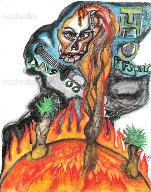 The Offspring Poster by Laura Leeann Leontaris on CreativeAllies.com