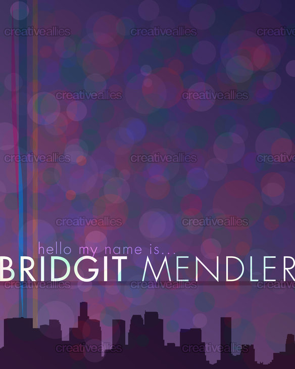 Bridgitmendlerposter