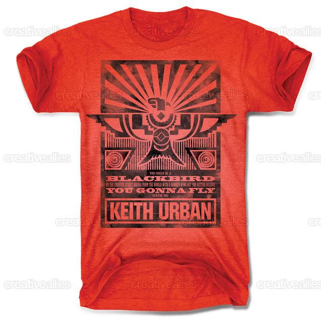 Design A Vintage T Shirt For Keith Urban Creative Allies