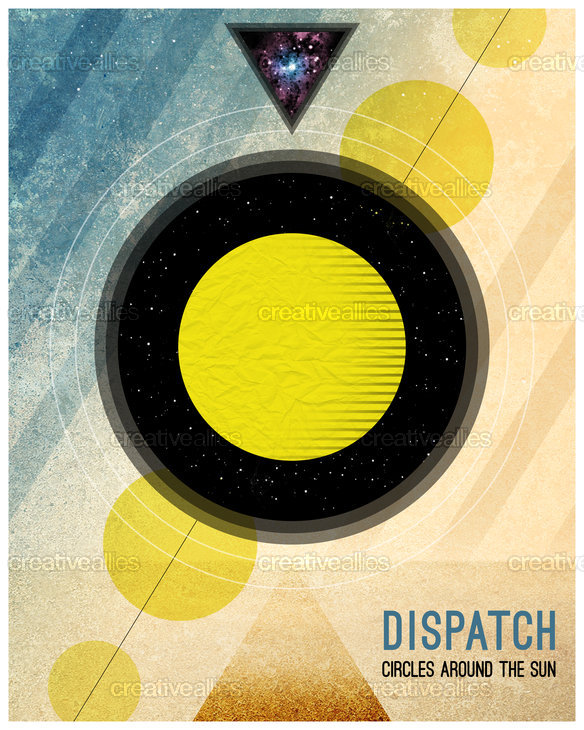 Dispatch Poster by Sean Kinberger on CreativeAllies.com