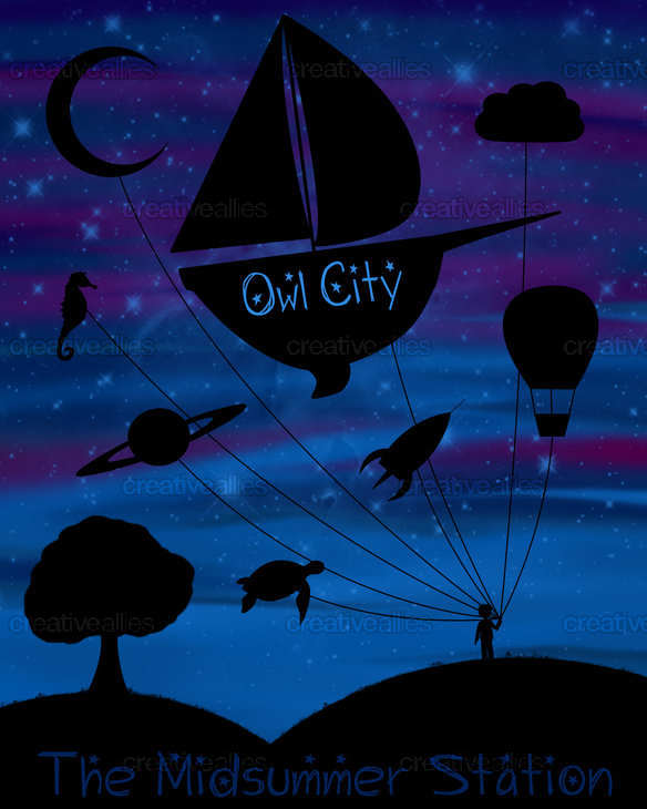 Owl City Poster by SheaForThaLulz on CreativeAllies.com
