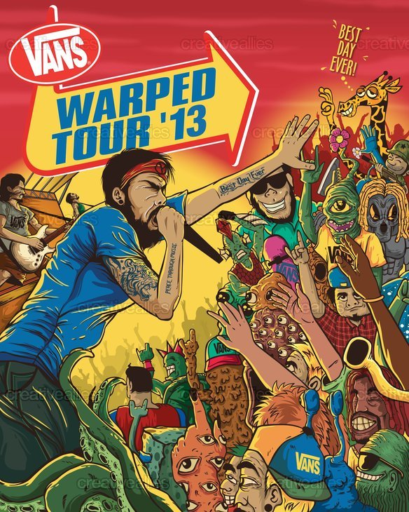 Warped Tour  Vote
