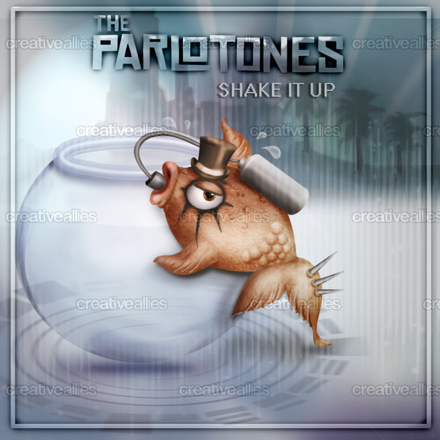 The Parlotones Album Cover by eveFlower on CreativeAllies.com