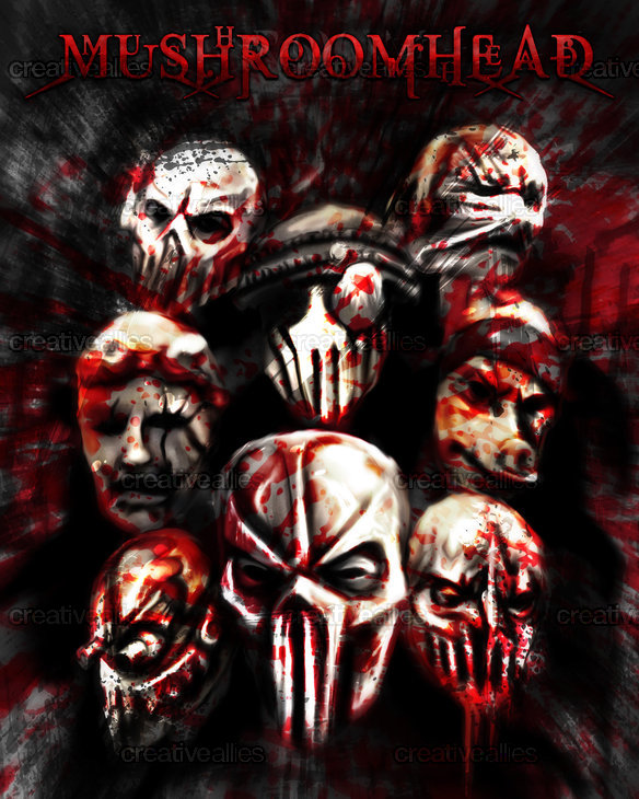 Mushroomhead Poster by Evandro Menezes on CreativeAllies.com