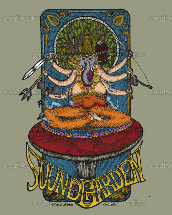 Soundgarden_king_of_animal_16x20in