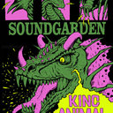 Soundgarden Poster by Richy Sampson