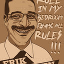 Erik Griffin Poster by Tiago Lopes da Conceicao