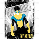 Invincible Merchandise Graphic by Jeorge Jorge