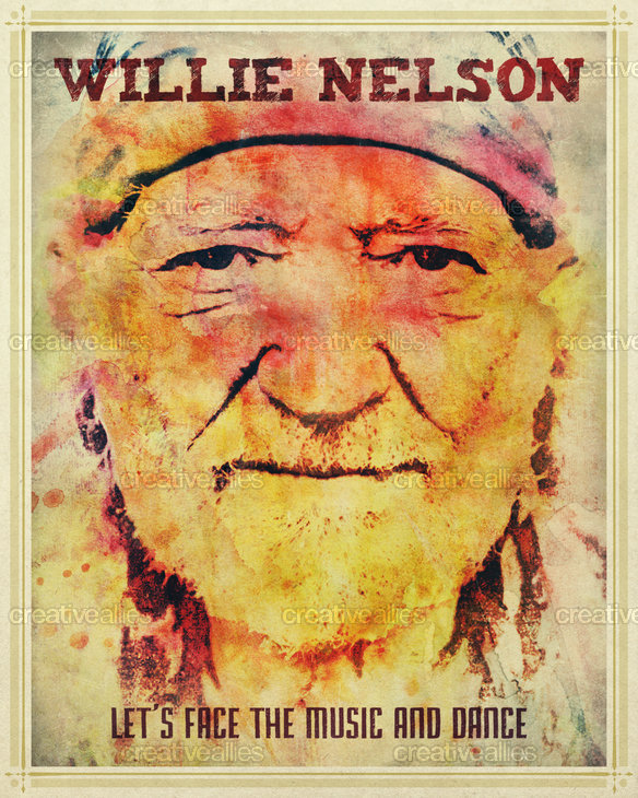 Willie_nelson_poster_frank_rizzo