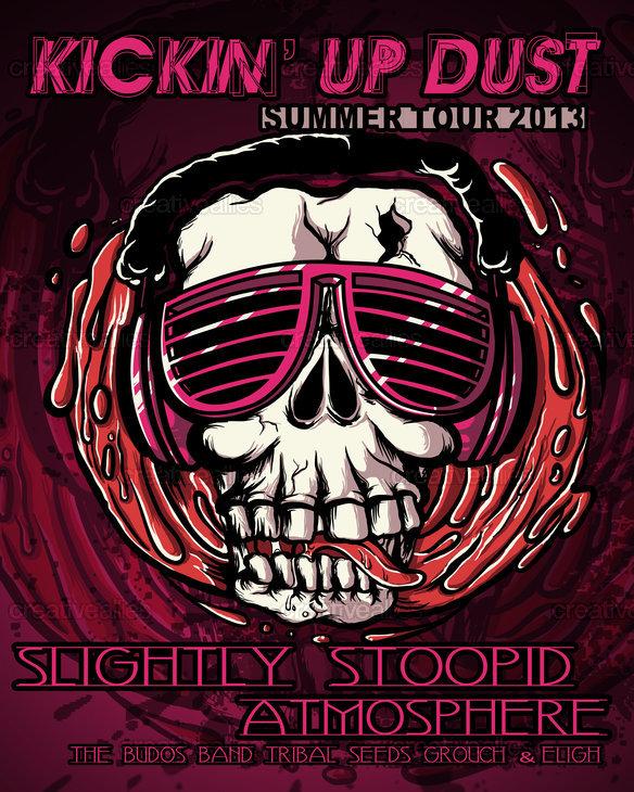 The gallery for --> Slightly Stoopid Skull Logo