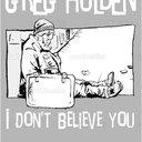 Greg Holden Album Cover by Csaba Mester