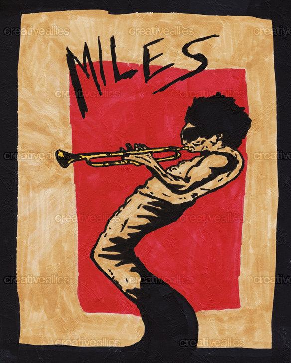 Miles_davis_drawing_poster