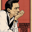 Johnny Cash Poster by MattDyckStudios