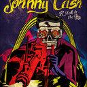 Johnny Cash Poster by Ahmad Hamidi Shaharuddin