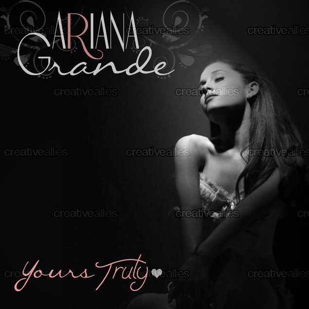 Yours Truly Ariana Grande Artwork