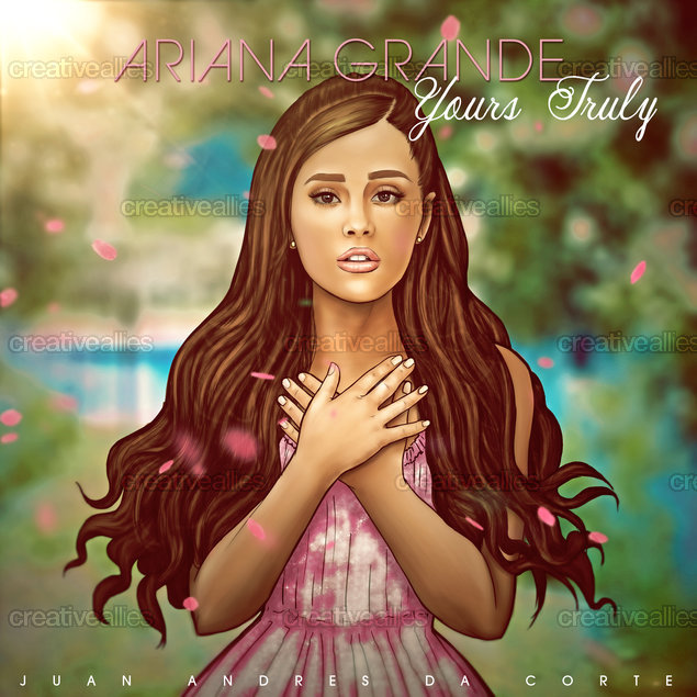 Design contest: Design Album Art for Ariana Grande