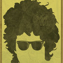 Bob Dylan Poster by Mike Corrick