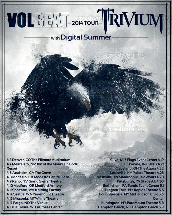 Trivium_volbeat_2014tour