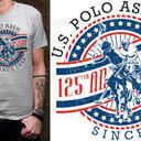 U.S. Polo Assn. Merchandise Graphic by izecson spirit