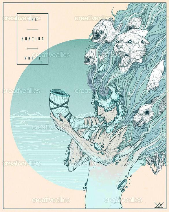 Linkin Park Poster by Jerryk Gutierrez