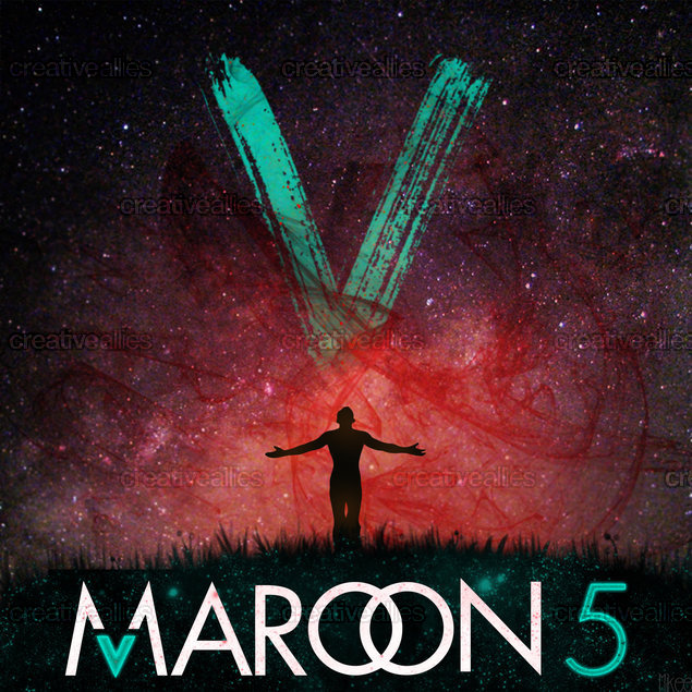 V Maroon 5 Album Cover Maroon 5 Album Cover b...