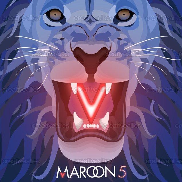 Maps Maroon 5 Album CoverMaroon 5 Animals Album Cover