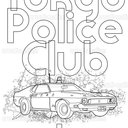 Tokyo Police Club Poster by Ton Strottmann