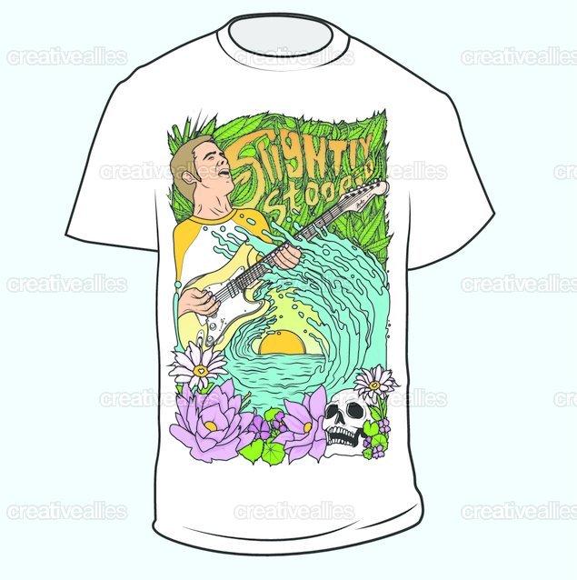 Slightly Stoopid T-Shirt by Serhey on CreativeAllies.com