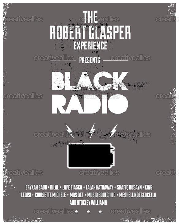Blackradioposter