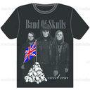 Band of Skulls T-Shirt by SmallAxe420