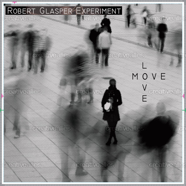 Robert Glasper Packaging by Pijus Vyčas on CreativeAllies.com