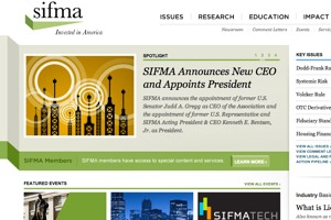 Sifma screenshot