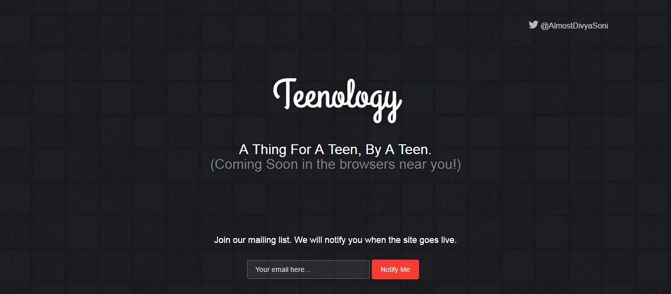 Screencapture teenology xyz 1471531934967