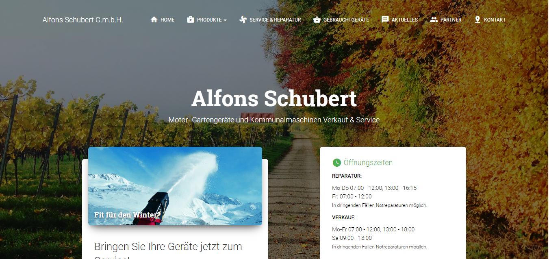 Alfons schubert