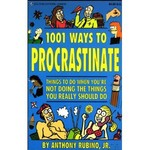One Thousand and One Ways to Procrastinate [Paperback]