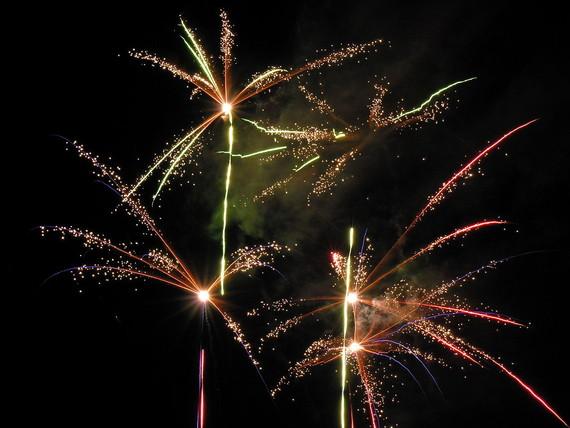 Festive Fourth of July Fireworks
