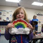 Awana Cubbies Making Crafts with Purpose