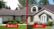 Asphalt Shingle with hail damage replaced with Metal Shake Shingles - EDCO
