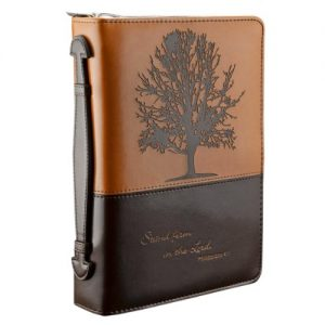 """Stand firm in the Lord"" Two-tone Bible / Book Cover - Philippians 4:1 (Large)"