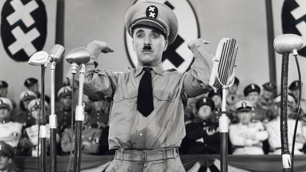 Who did charlie chaplin learn sign language from