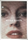 The Marriage of Maria Braun box cover