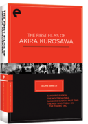 Eclipse Series 23:  The First Films of Akira Kurosawa (Eclipse DVD)