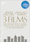 André Gregory & Wallace Shawn: 3 Films (Criterion Blu-Ray)