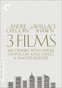 André Gregory & Wallace Shawn: 3 Films (Criterion DVD)