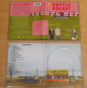 Blu-ray Replacement Case: Bottle Rocket