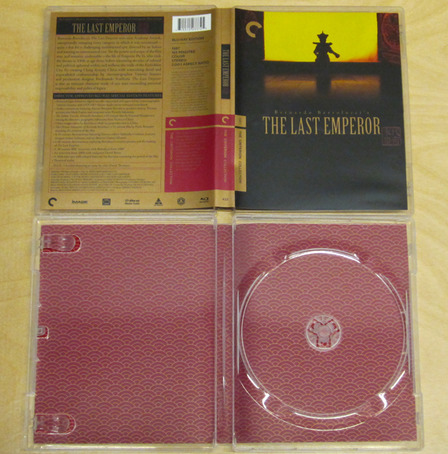 Blu-ray Replacement Case: The Last Emperor